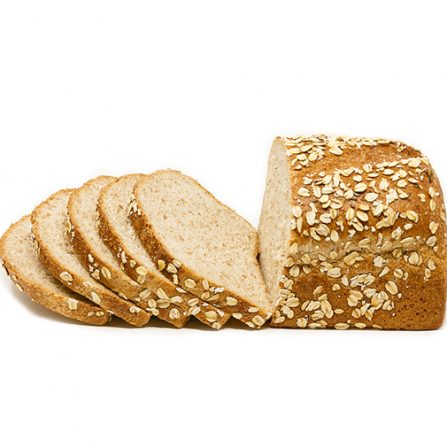 Whole Wheat Small Loaf with Oats